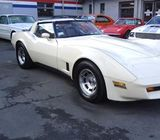 1981 Chevrolet CORVETTE 4 SPEED MANUAL T-TOP COUPE