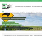 Man with a Van Service | Furniture Removals, Freight, Trade Me Deliveries, Furniture Freight