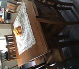 8 seater wooden dining table for sale