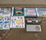 nintendo ds lite plus 10 games