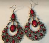 Ethnic style alloy earrings