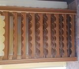 Wine Rack Solid Rimu Hand Crafted