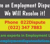 We Resolve Employment Disputes - 022Dispute (022 347 7883)