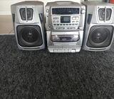 Digital compact disc FM/AM stereo cassette system
